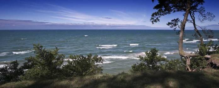 Lake Michigan shore near Montague, MI